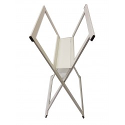 Midi Folding Browser Steel White