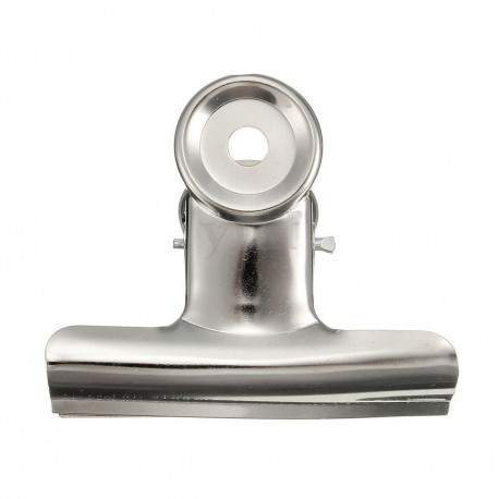 Bulldog Clip polished chrome