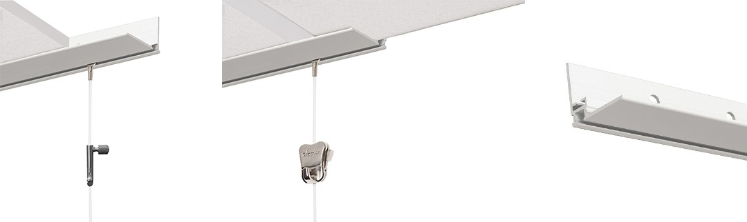 Suspended Drop Ceiling Rail