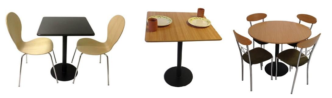 Bistro Pedestal Tables
