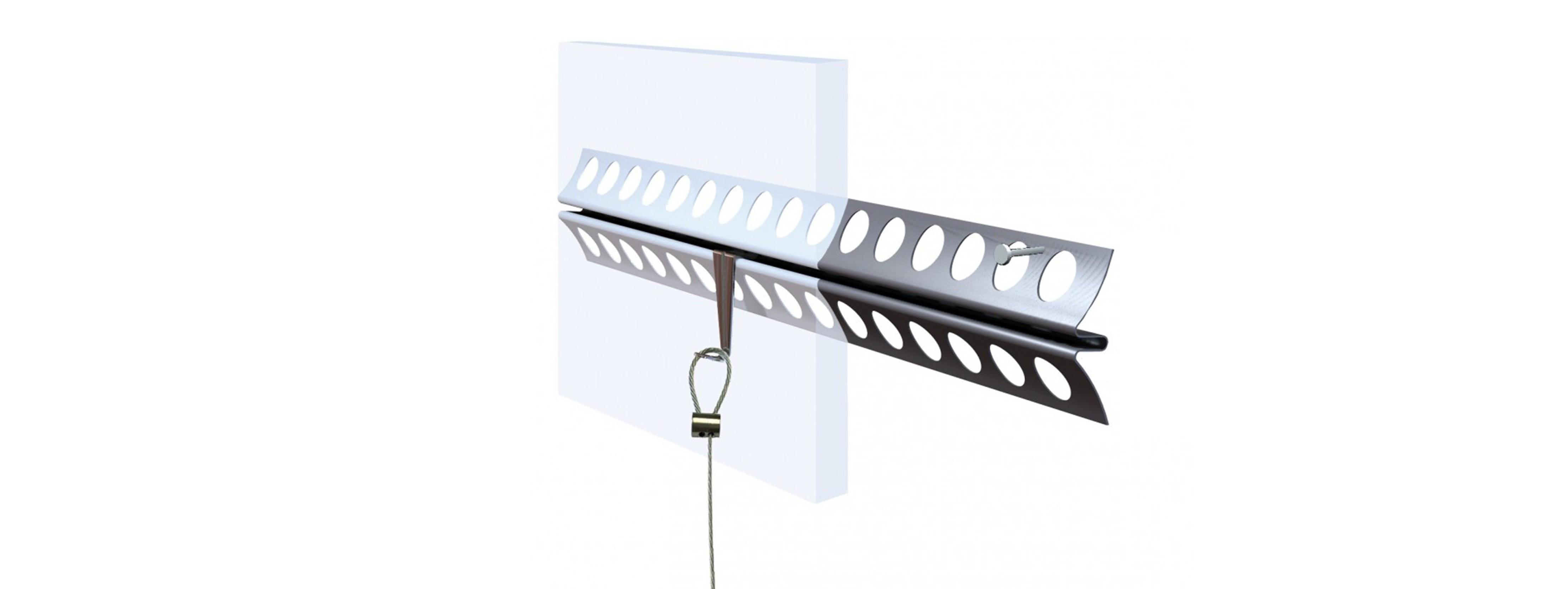 Plaster-Rail System