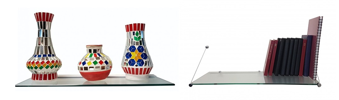 Floating Glass Shelf